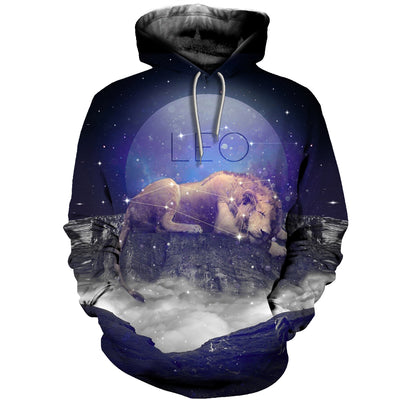 3D All Over Printed Leo Zodiac T Shirt Hoodie 221206