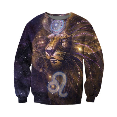 3D All Over Printed Leo Zodiac T Shirt Hoodie 2212011
