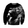 3D All Over Printed Lion T Shirt Hoodie 121410