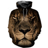 3D All Over Printed Lion T Shirt Hoodie 12144