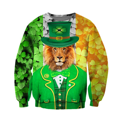 3D All Over Printed Lion Patrick T Shirt Hoodie 2222019