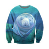 3D All Over Printed Manatee T Shirt Hoodie 201215