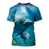 3D All Over Printed Manatee T Shirt Hoodie 20122