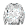 3D All Over Printed Manatee T Shirt Hoodie 201223