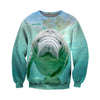 3D All Over Printed Manatee T Shirt Hoodie 20128