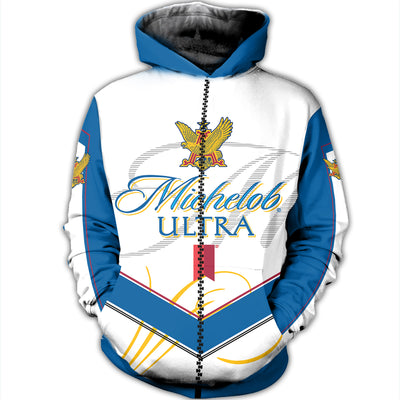 3D ALL OVER PRINTED MICHELOB ULTRAHOODIE