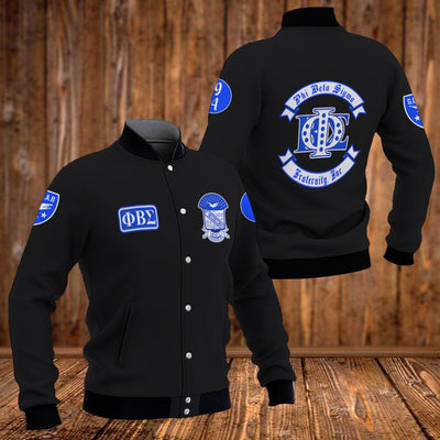 PHI BETA SIGMA BASEBALL JACKET 3