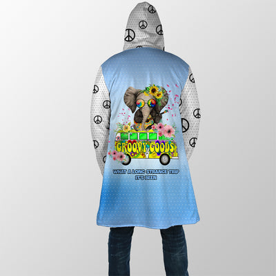 WHAT A LONG STRANGE TRIP IT'S BEEN HIPPIE HOODED COAT