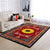 HIPPIE GORGEOUS SUNFLOWER WITH LUXURIOUS BACKGROUND AREA RUG