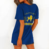 SIGMA GAMMA RHO HOLLOW OUT V-NECK T SHIRT 4520203