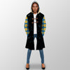 HIPPIE SEE YOU ON THE DARK SIDE OF THE MOON HOODED COAT