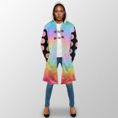 PEOPLE SHOULD STOP EXPECTING NORMAL FROM ME UNICORN HIPPIE HOODED COAT
