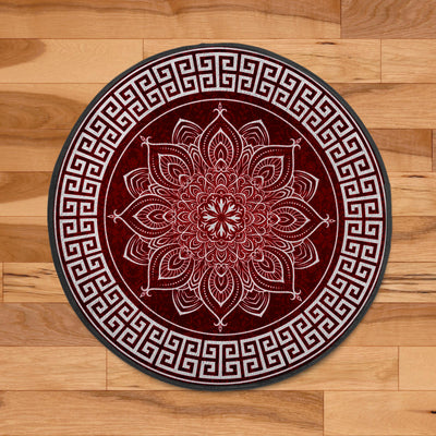 LUXURIOUS HIPPIE MANDALA PATTERNS ROUND CARPET