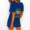 SIGMA GAMMA RHO HOLLOW OUT V-NECK T SHIRT 4520201