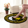 GORGEOUS SUN AND MOON WITH MANDALA PATTERN HIPPIE ROUND CARPET