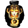 3D All Over Printed Monkey T Shirt Hoodie 3120191