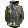 3D All Over Printed Moose T Shirt Hoodie 291216