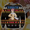 NATSU DRAGNEEL KNITTING PATTERN 3D PRINT UGLY SWEATER