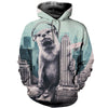 3D All Over Printed Otter T Shirt Hoodie 1412