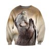 3D All Over Printed Otter T Shirt Hoodie 141202