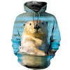 3D All Over Printed Otter T Shirt Hoodie 141203