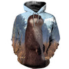 3D All Over Printed Otter T Shirt Hoodie 141204