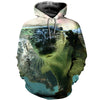3D All Over Printed Otter T Shirt Hoodie 141205