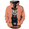 3D All Over Printed Otter T Shirt Hoodie 141011