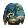 3D All Over Printed Otter T Shirt Hoodie 141017