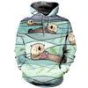 3D All Over Printed Otter T Shirt Hoodie 141019
