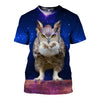 3D All Over Printed Owl T Shirt Hoodie 13121