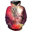 3D All Over Printed Owl T Shirt Hoodie 13123