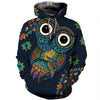 3D All Over Printed Owl T Shirt Hoodie 13126