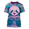 3D All Over Printed Panda T Shirt Hoodie 50109