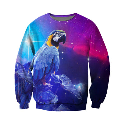 3D All Over Printed Parrot T Shirt Hoodie 1412