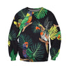 3D All Over Printed Parrot T Shirt Hoodie 14124