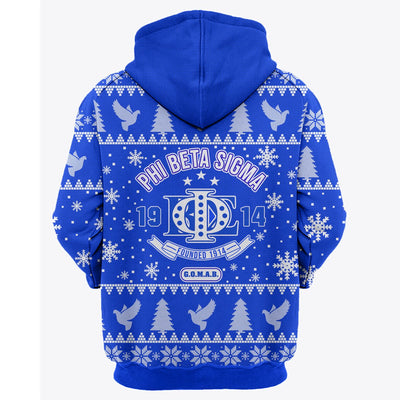 3D ALL OVER PHI BETA SIGMA UGLY SWEATER 4102019