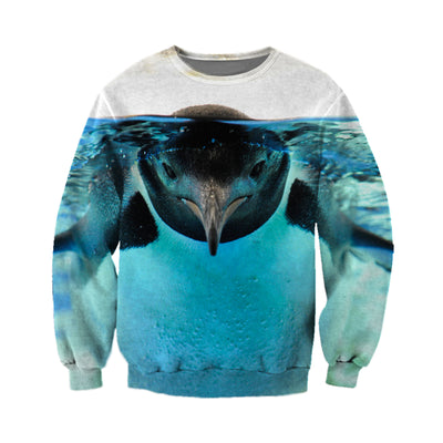 3D All Over Printed Penguin T Shirt Hoodie 151203