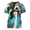 3D All Over Printed Penguin T Shirt Hoodie 151206