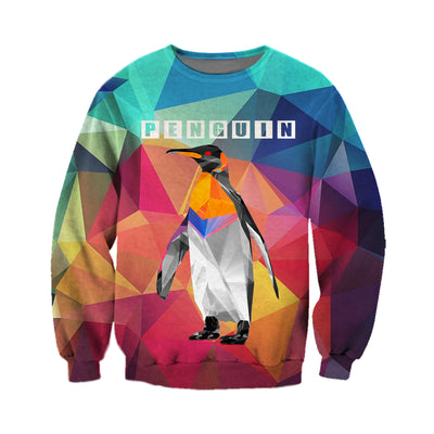 3D All Over Printed Penguin T Shirt Hoodie 151207