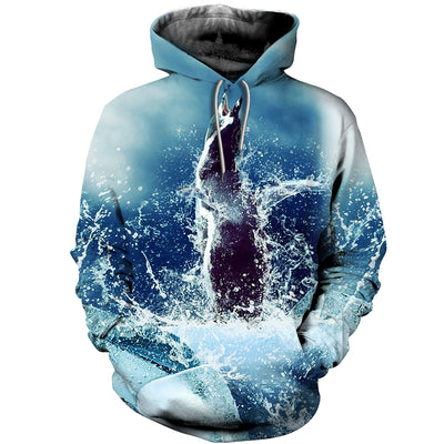 3D All Over Printed Penguin T Shirt Hoodie 151208