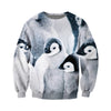 3D All Over Printed Penguin T Shirt Hoodie 151209