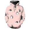 3D All Over Printed Penguin T Shirt Hoodie 1512012