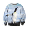 3D All Over Printed Penguin T Shirt Hoodie 1512013