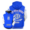 3D ALL OVER PHI BETA SIGMA HOODIE 24720192