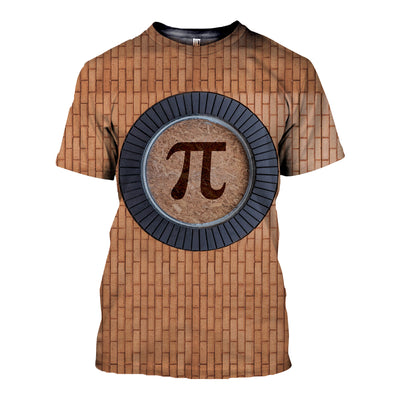 3D All Over Printed Pi Day T Shirt Hoodie 16220191