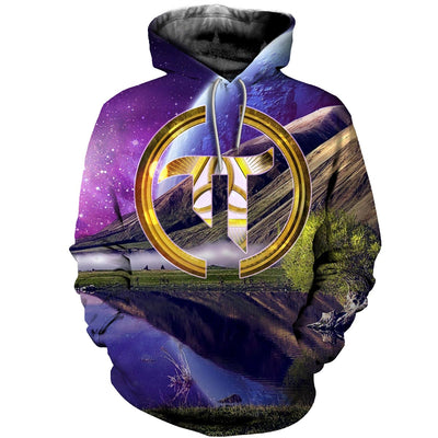 3D All Over Printed Pi Day T Shirt Hoodie 16220195