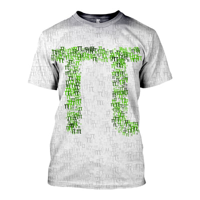 3D All Over Printed Pi Day T Shirt Hoodie 1822019