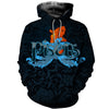 3D All Over Printed Pisces Zodiac T Shirt Hoodie 40102