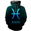 3D All Over Printed Pisces Zodiac T Shirt Hoodie 40105